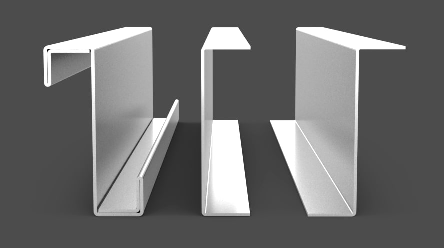 zimnogięte kształtowniki stalowe