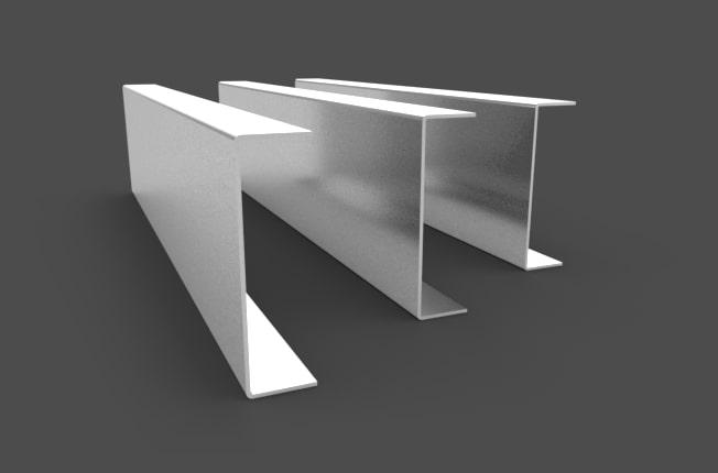 Kształtownik stalowy zimnogięty profil C