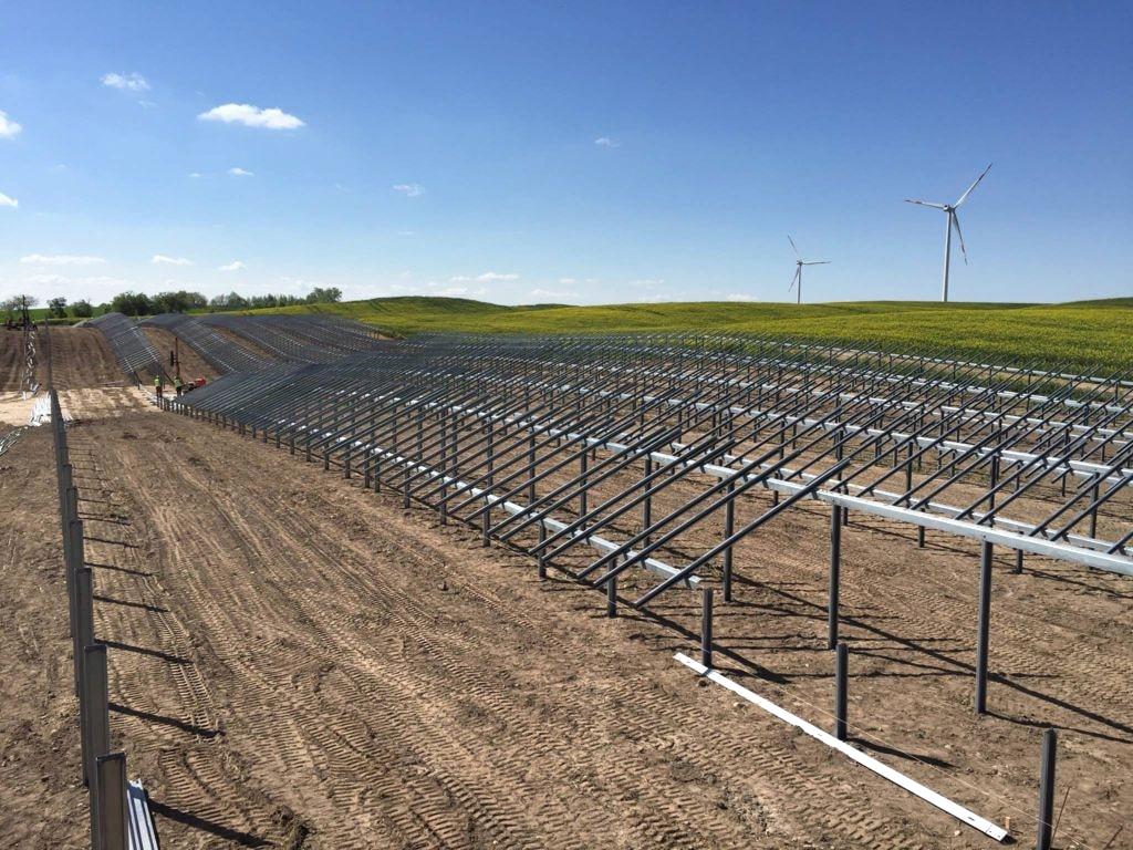 Konstrukcje systemów solarnych - płatwie - prohile TwinZ