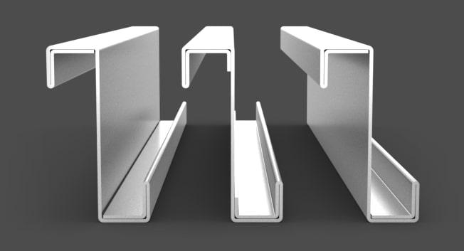 zimngięte kształtowniki stalowe